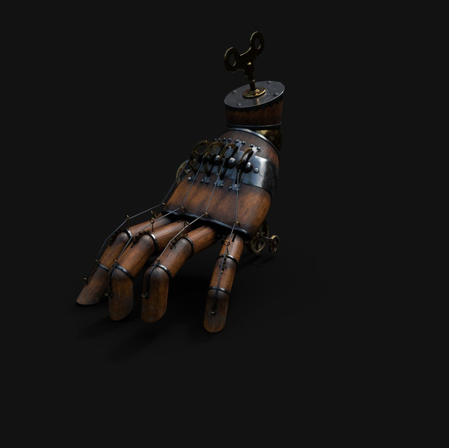 Texturing hand in Substance Painter