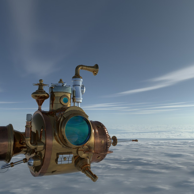Texturing Submarine in Substance Painter