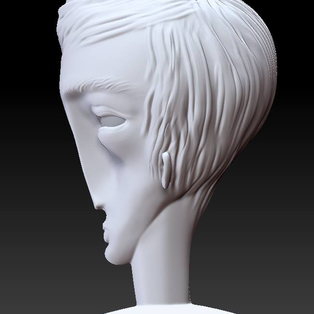 face sculpt