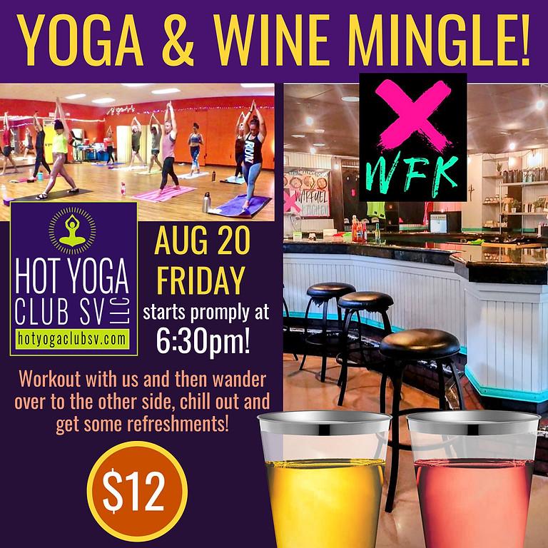 Wine & Yoga Mingle