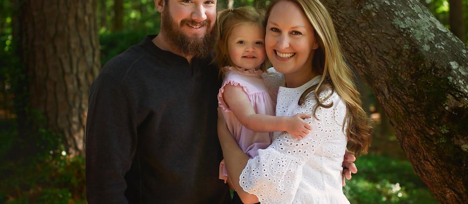 Spring Family Mini Session | Brandon, MS Family Photography