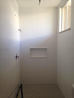 Andamento da Obra - Banheiro