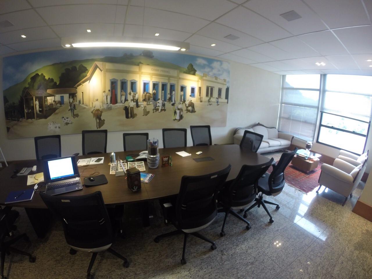 Projeto Corporativo Sala de Reunião