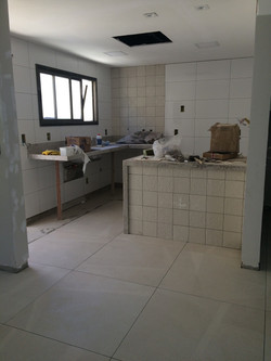 Andamento da Obra - Cozinha