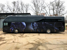 Оклейка автобуса