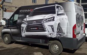 брендирование фургона