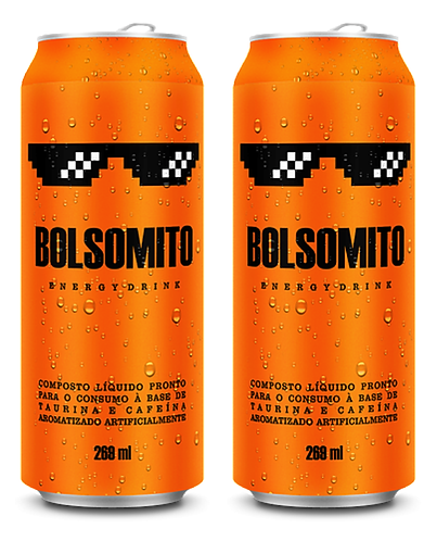 BOLSOMITO Energy Drink - Kit Duas Latas (2x269ml)