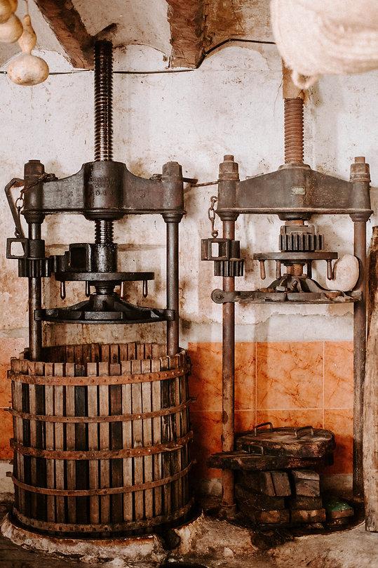 prensas vino