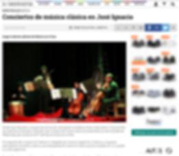 Nota revista Sinfónica Art Cantorum