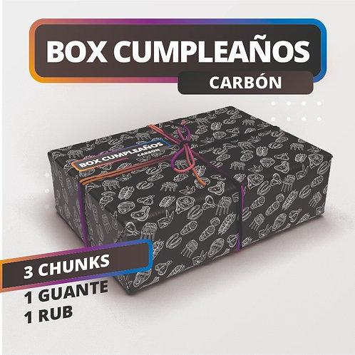 BOX CUMPLEAÑOS CARBON
