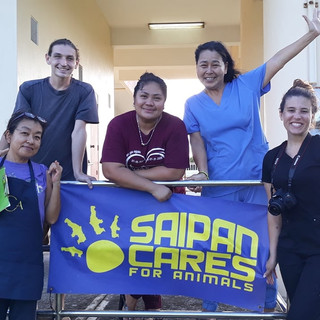 Thank you to our Tinian volunteers for a great clinic! (December 2020)