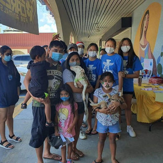 Students from Saipan International School hosted a bake sale and adoption event on December 12, 2020