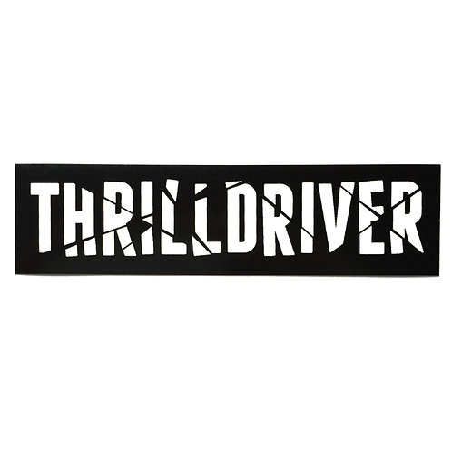 Thrilldriver Sticker