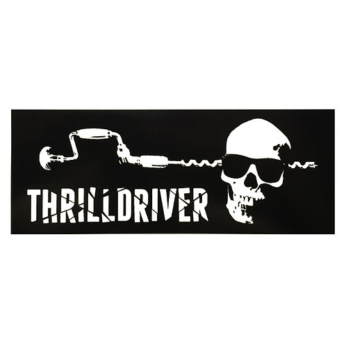 Thrilldriver Sticker