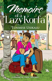 Memoirs of Lazy Korfa Book Front Cover