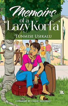 Memoirs of a Lazy Korfa Book Front Cover
