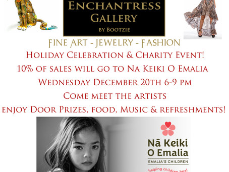 Holiday Celebration & Charity Event!