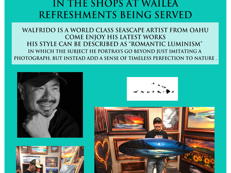 HAPPY HOUR WITH WALFRIDO Thursday 5-9 PM June 13th