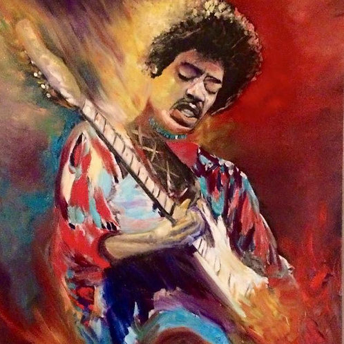 Jimmi by James Freeborn Welch 30x40