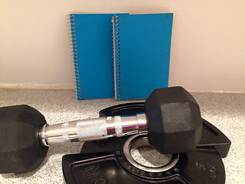 Personal workout log and customized plans