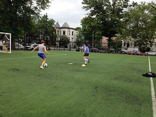 individual soccer training with Ariel in DC