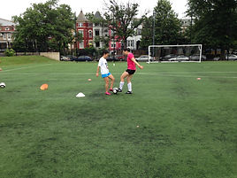 Group/Team Soccer training with Ariel in DC