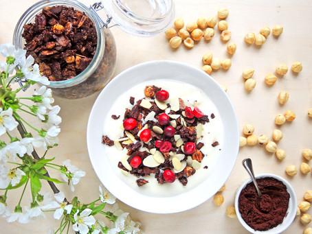 Kakaová granola