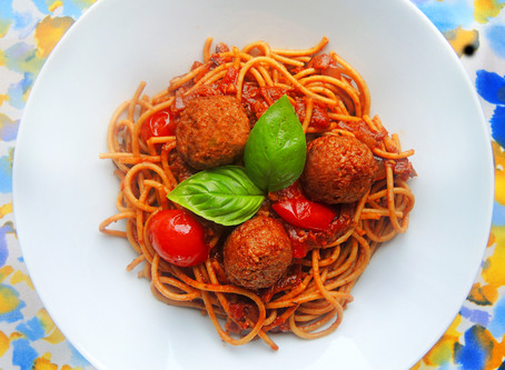 Vegetariánská boloňská omáčka