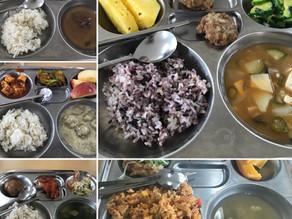 What Korean School Lunch is like