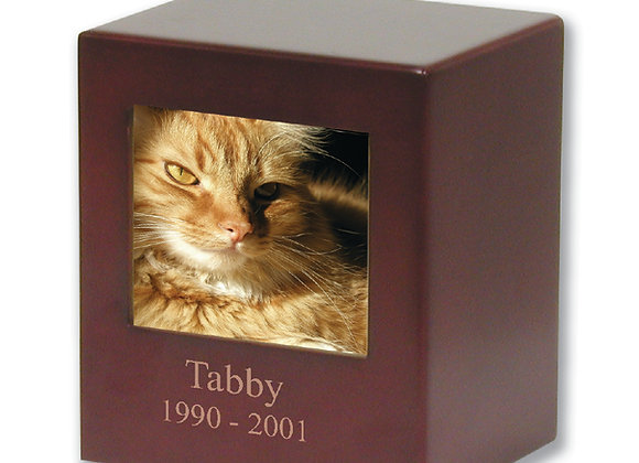 Cherry Photo Pet Urn
