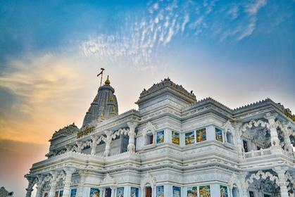 Prem Temple, Mathura, India