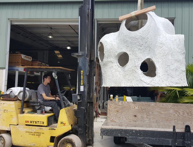 Sand Sculpted Reef 15 - CXOART