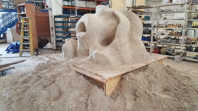 Sand Sculpted Reef 11 - CXOART