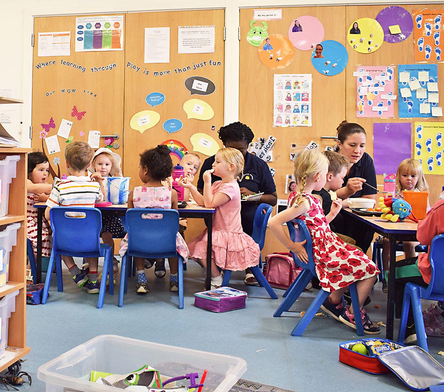 Old Sarum Nursery School HP3