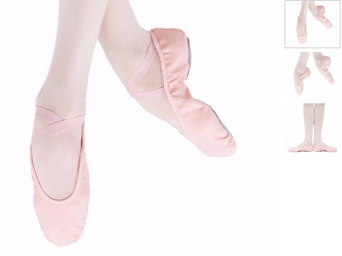 SoDanca Canvas Ballet Slipper
