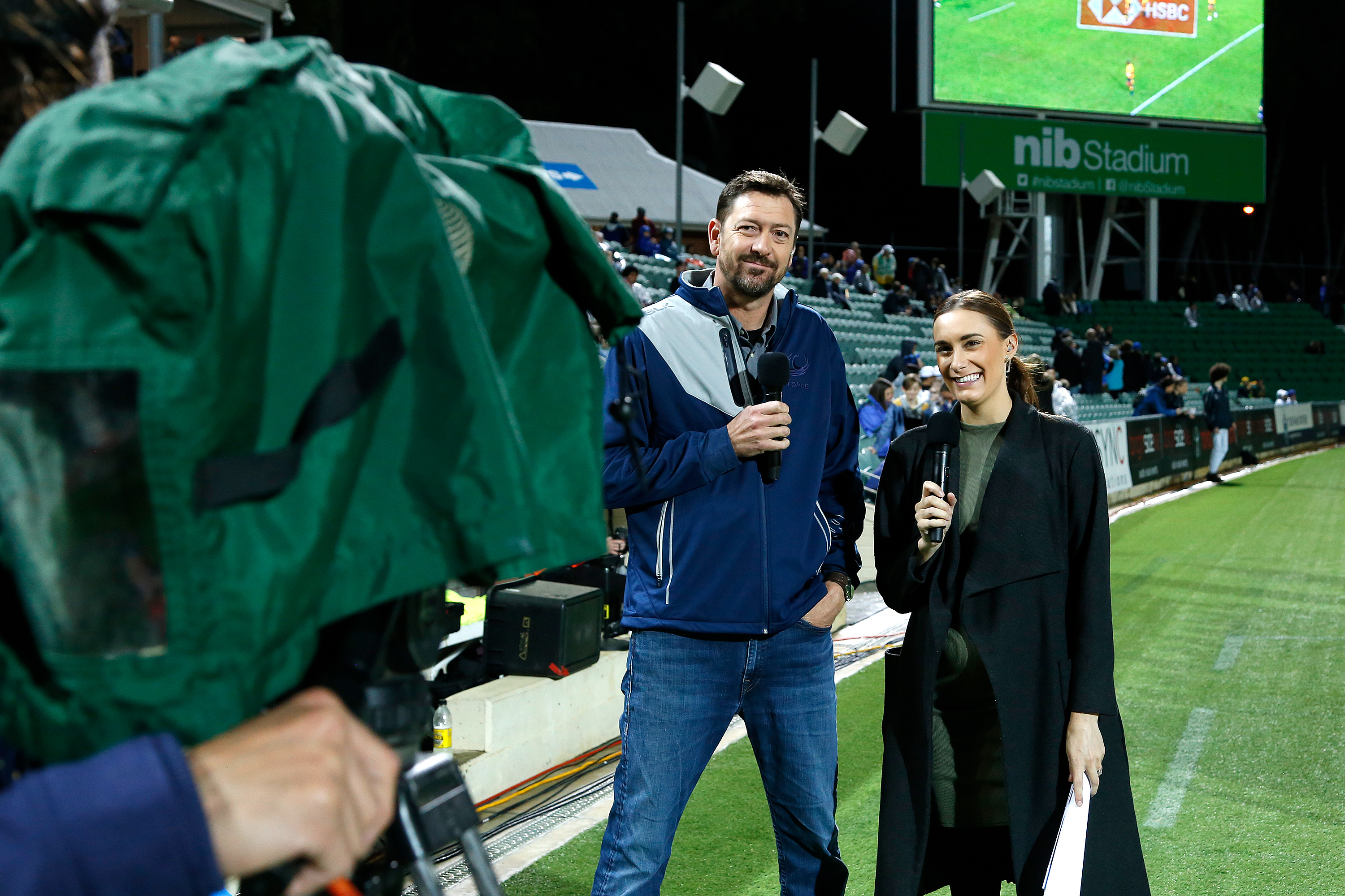 Channel Seven Rugby Broadcast