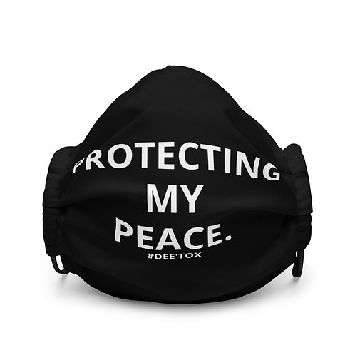 """PROTECTING MY PEACE MASK"""