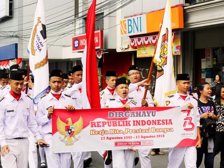 Semarak Hari Kemerdekaan dan Menyambut Asian Games