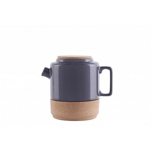 Teekanne Dunkelgrau