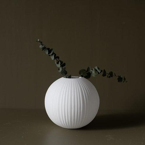 Vase Vena white