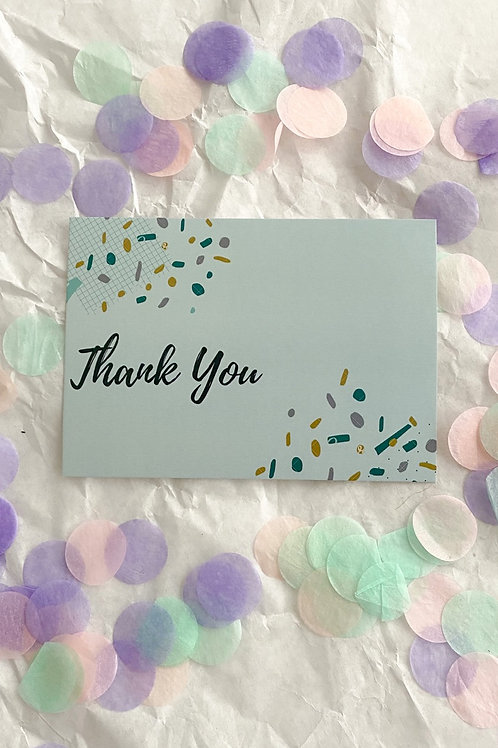"Postkarte ""ThankYou"""