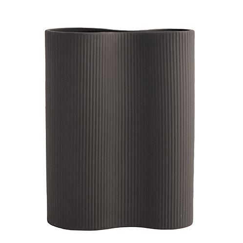 Vase Bunn dark grey von Storefactory