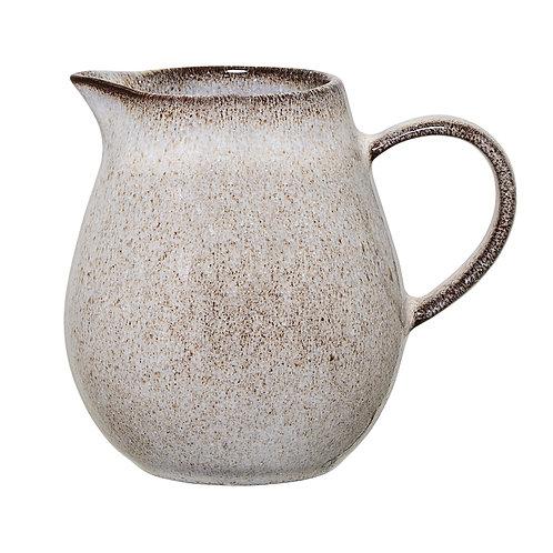 Sandrine Milk Jug, Grey, Stoneware