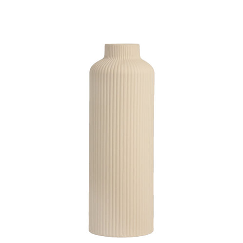 Vase Ådala beige von Storefactory