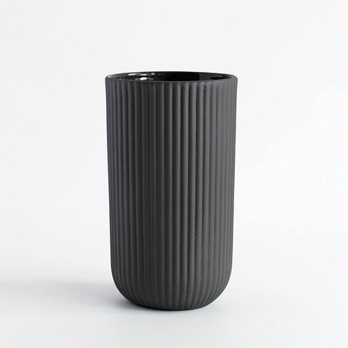 Latte Cup Column dark grey 220ml