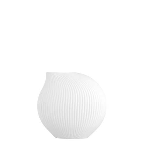 Vase Lerbäck white von Storefactory