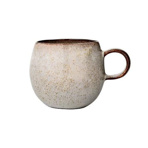 Sandrine Mug, Grey, Stoneware