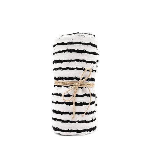 Mulltuch Bio-Baumwolle 120x120cm • Stripes