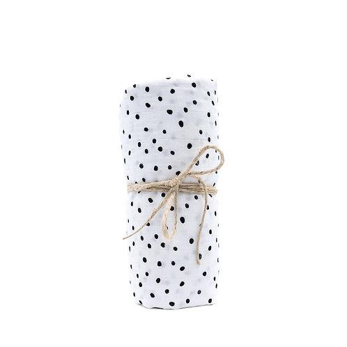 Mulltuch Bio-Baumwolle 120x120cm • Dots