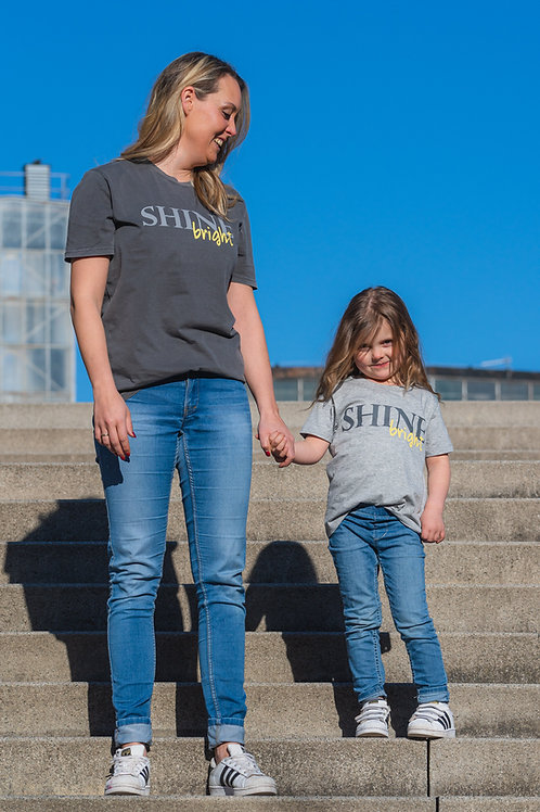 "Kids T-Shirt ""SHINE"""